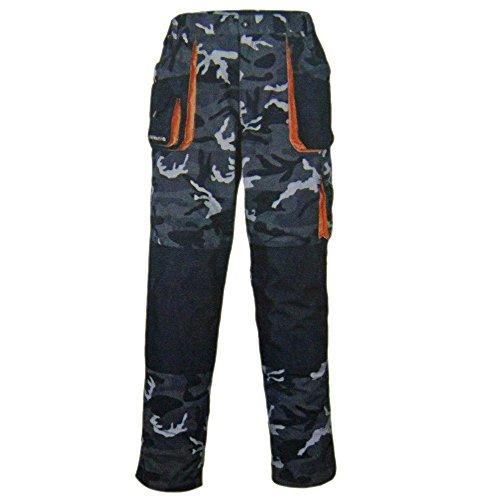 Terratrend Bundhose Arbeitshose Camouflage Arbeitskleidung Gr. 56-58 Job 3230, Größe:56
