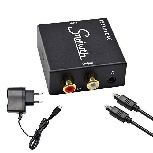 192kHz Convertidor Digital a Analógico, Snxiwth DAC Audio