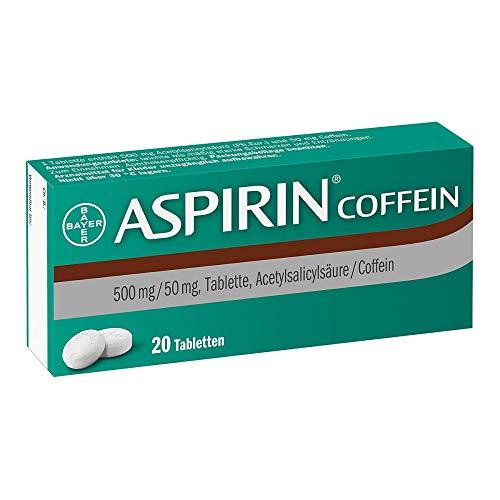 ASPIRIN Coffein Tabletten 20 St Tabletten