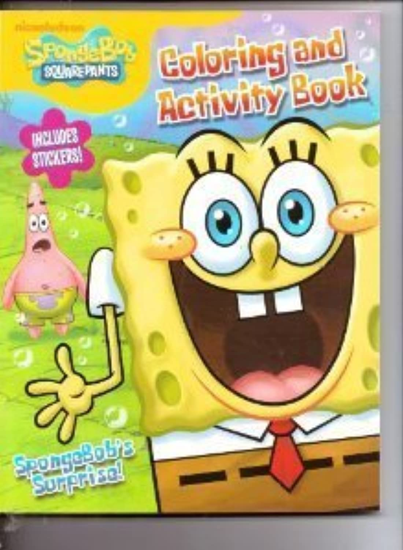 SpongeBob SquarePants coloring & Activity Book (Includes Stickers)  SpongeBob's Surprise by Nick Jr   Nickelodeon   Viacom