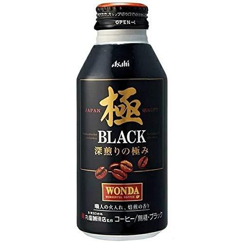 WONDA 極 ブラック  400gボトル缶 1ケース24本入り