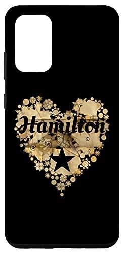 Galaxy S20+ I Love Hamilton Heart Case