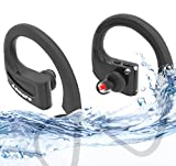 Annure La Musique Waterproof IPX7 Sports High Bass Bluetooth Wireless Earphones Headsets