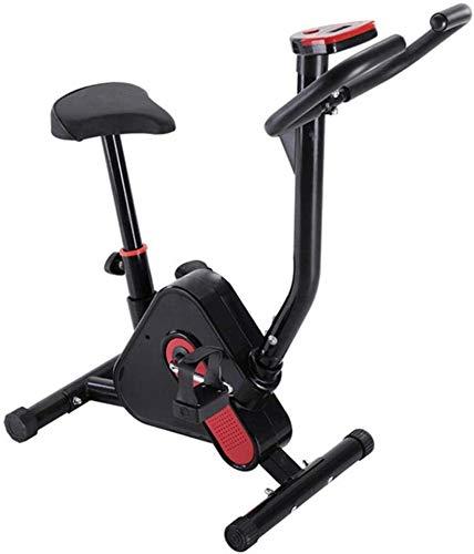 Cyclette ciclismo macchina di formazione macchine esercizio aerobico, la resistenza velocità del nastro, la perdita di peso attrezzature per il fitness a casa allenatori sportivi moto,Black
