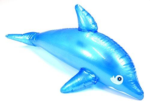 Unbekannt 1 x Aufblas-Delfin ca. 50cm