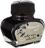 Pelikan 301051 - Tinta para pluma estilográfica 4001, frasco de vidrio de 30 ml, color Negro