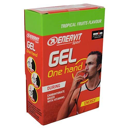 Enervit Sport One Hand Gel (Frutta tropicale, 6 x 12,5 ml)
