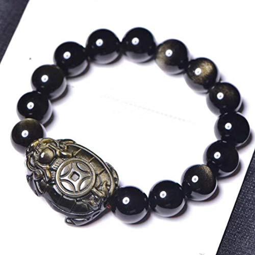 GZMUS Bracelet De Richesse Feng Shui Bracelet De Pierre Préc