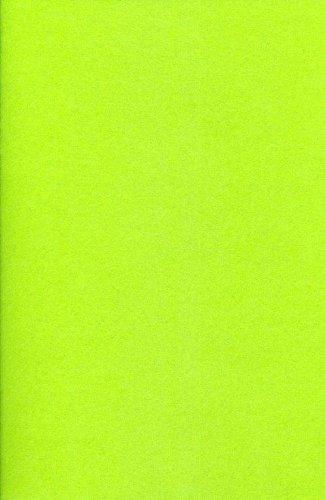 Hobby & Crafting Fun Lot de 5 feutrines acrylique, vert citron #7414