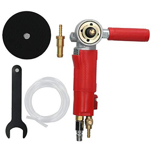 Pulidora de piedra con aire húmedo, molino de agua neumático, pulidora de aire de inyección de 4 pulgadas para herramienta de molienda de trabajo de carrocería