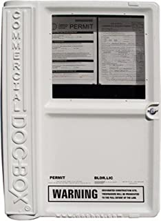 DHR 25 in. x 36 in. x 6.5 in. Commercial Doc-Box Permit Posting Unit