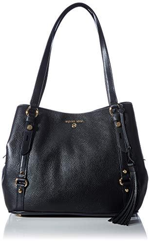 Michael Kors Carrie, LG Shldr Tote Donna, Nero, Large