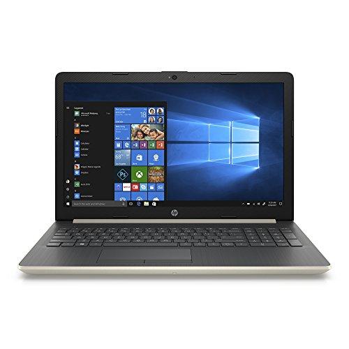 HP 15-DA000 Slim High Performance Laptop in Gold Intel i7 up to 4GHz 8GB RAM 256GB SSD 15.6in HD Webcam WiFi (Renewed)
