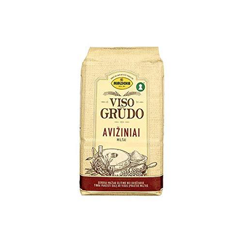 10 kg Farina di Avena - Farina d'avena Integrale, Senza Glutine, 100% Naturale 10 x 1 kg