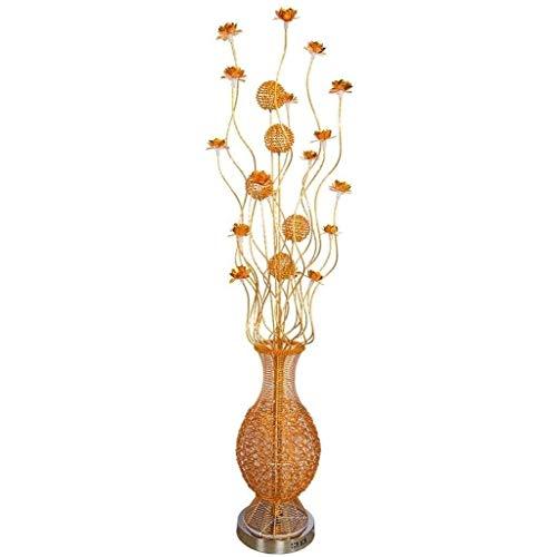 Lámparas de Pie Lámpara de Piso Luz de Pie Florero de regalo Lámpara de pie, lámparas de flores Luz de noche de pie Iluminación de boda for sala de estar Dormitorio Decoración de jardín, alambre de al