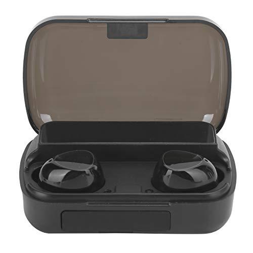 Cosiki Tabletas inalámbricas verdaderas duraderas del Auricular del Auricular del Control táctil para los teléfonos móviles(M10 Big Screen Black)
