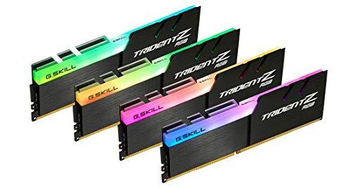 G.Skill Trident Z RGB F4-4000C18Q-128GTZR Module mémoire 128 Go 4 x 32 Go DDR4 4000 MHz