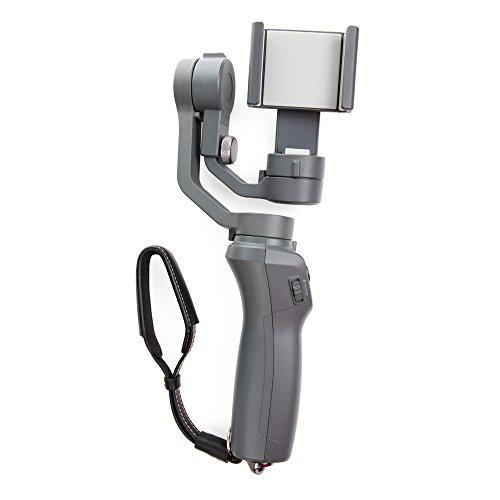 RC Gearpro Handheld Gimbal fotocamera mano cinturino da polso per DJI Osmo mobile 2, laccio cinghia cordino imbracatura con supporto per RC drone telecomando Fissatore Braided Style Cruz V2 Fresh Foam