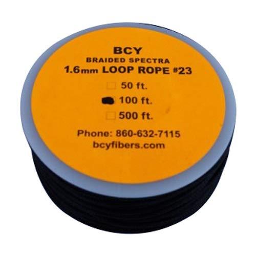 BCY Size 23 Loop Rope Black 100 ft.