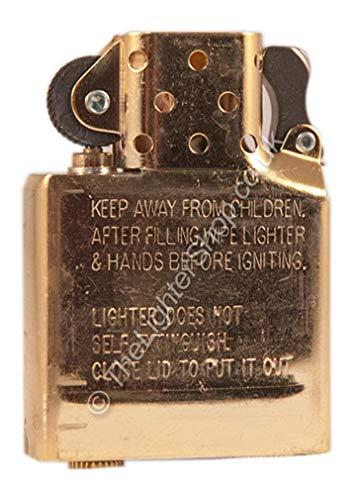 Zippo Inserto di ricambio per accendino, cromato, ricambio originale