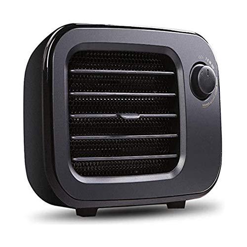DWJ Calentador de Aire Calentador eléctrico portátil Portátil Mini Calentador eléctrico 500W Control de Temperatura libremente Ajustable, Adecuado for Oficina en Invierno