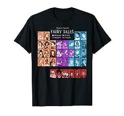 Disney Princess Periodic Table Fairy Tales Graphic T-Shirt