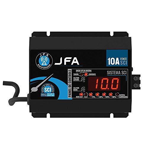 Fonte Carregador Bateria JFA 10A Bivolt Automatico Display