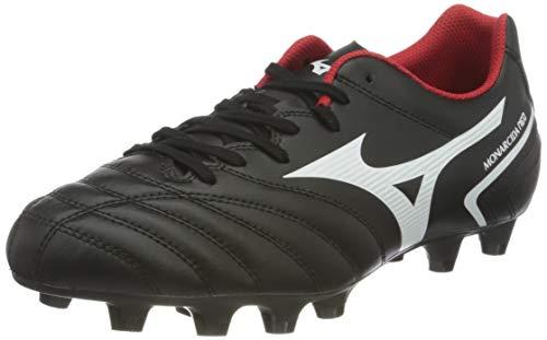 Mizuno Monarcida II Sel, Zapatillas de fútbol Hombre, Negro y Blanco, 46 EU