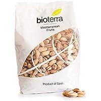 Bioterra, pistacho con cáscara tostado con sal ecológico 200 g