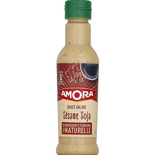 Amora - Sésamo salsa de soja Ensalada - 210ml - Lote de 3