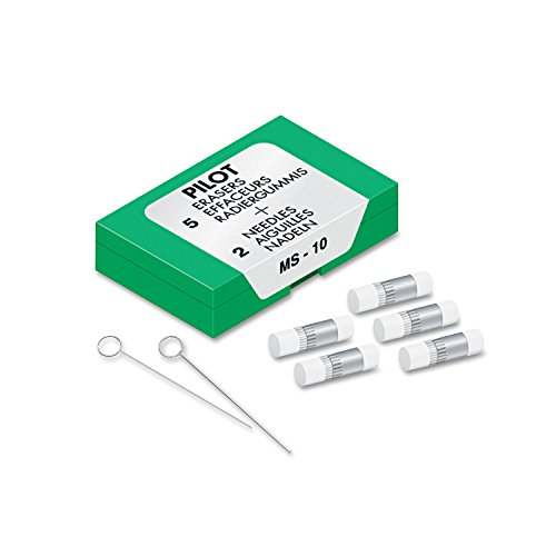 Pilot (70001) MS-10 Eraser Refill, Sold as Two Packs of Five: Total of 10 Each