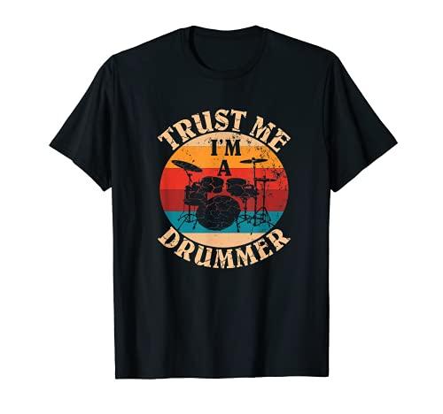 Percussion Instruments Trust Me I'm A Drummer T-Shirt