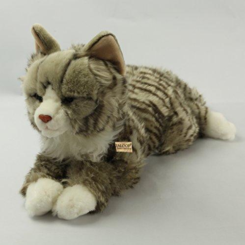 Zaloop Katze Waldkatze ca. 48 cm Plüschtier Kuscheltier Stofftier Plüschkatze 1