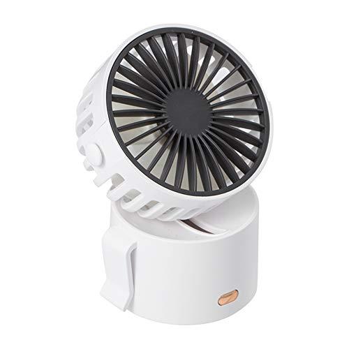 Fly-Dream, mini ventilatore portatile con 3 velocità, mini ventilatore con corda da appendere Tipo-C USB ricaricabile ventilatore da scrivania 45 gradi girevole