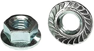 Ships Free in USA 5//16-24 Hex Flange Nuts 304 Stainless Steel 18-8 1000pcs Serrated