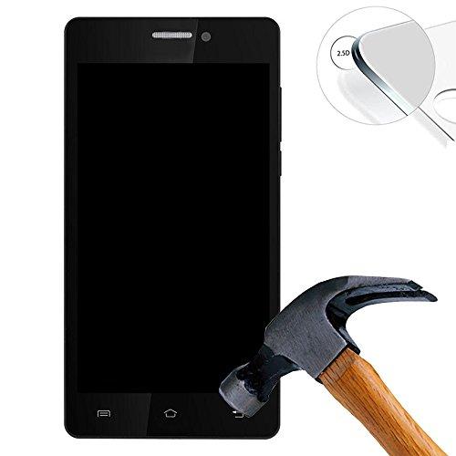 2 x Pak Gehard glas Screen Protector voor Prestigio Wize K3 PSP3519 DUO 5.0 Inch Hardglas Display Film Beschermende Screenprotector (alleen betrekking op het vlakke gedeelte)