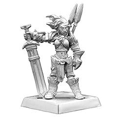 Found in Reaper Miniatures' Category: Pathfinder Miniatures Unpainted Metal Miniature Figure sculpted by artist Derek Schubert