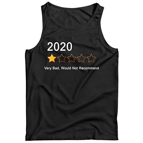lepni.me Camisetas de Tirantes para Hombre 2020 Una Estrella Revisar Muy Malo No Recomendaría Traje...