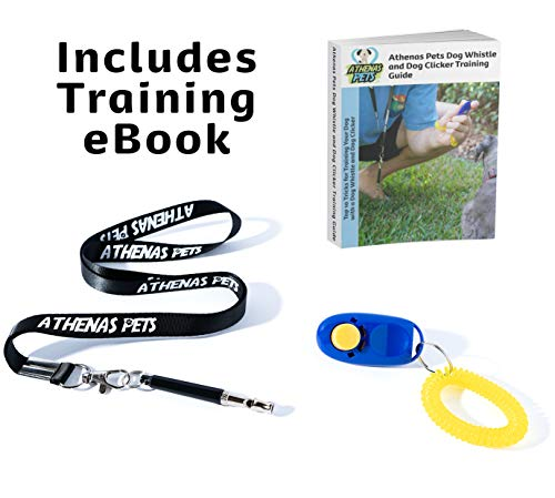 Athenas Pet Adjustable High Frequency whistle for dogs