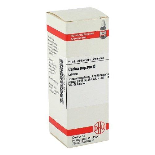 CARICA PAPAYA Urtinktur 20 ml Dilution