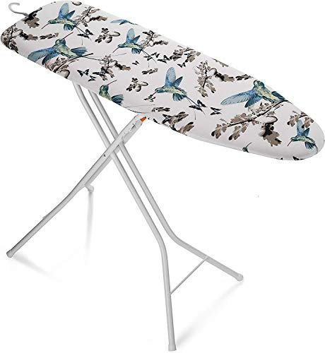 Bartnelli Rorets Compact Space Saving Ironing Board Hanger – with Smart Hanger for Easy Storage | 4 Layer Cover Pad | 4 Leg, Lightweight, for Home...