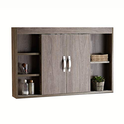 Spiegelkasten Wandmontage massief hout badkamer combinatie badkamer met deur, schuifdeur ontwerp