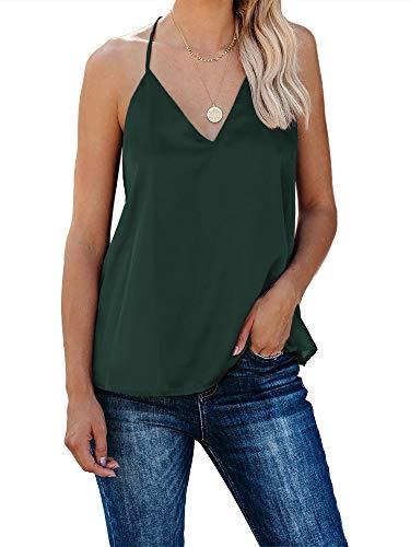 Ybenlover - Camiseta de Tirantes para Mujer, diseño de Spaghetti
