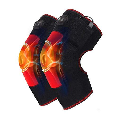 LIPENLI Rodilla Brace calefacción del Abrigo del cojín terapéutico for la Artritis, Dolor Articular crónico, tendinitis, dislocación de la rótula, desgarre del ligamento, Terapia de Calor
