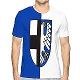 qianfengdamaoyi t-Shirts Style t-Shirts Hommes Femmes Drapeau de balve dans Le rhin du Nord Nous t-Shirt en Coton L