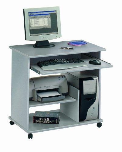 Jahnke 80834 Computer Tisch CT 1 Alu 80 x 77 x 48 cm