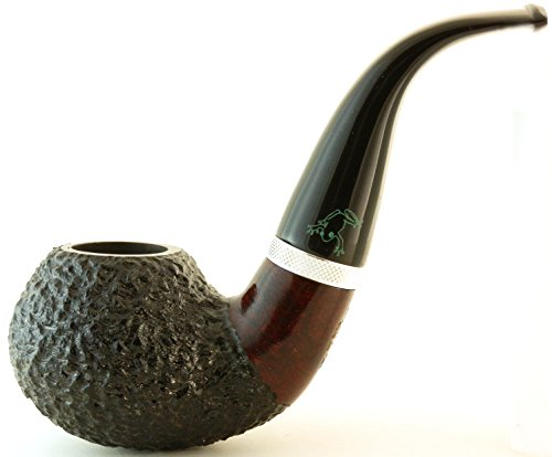 Briar Tobacco Pipe - Model No: 100 Frog - Oom Paul Style - Hand Made by Mr. Brog