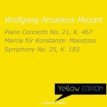 Yellow Edition - Mozart: Piano Concerto No. 21, K. 467 & Symphony No. 25, K. 183