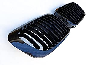 Black Euro Kidney Grill For BMW E46 Cabriolet Coupe Pre-Facelift Carbon M3 M 99-02