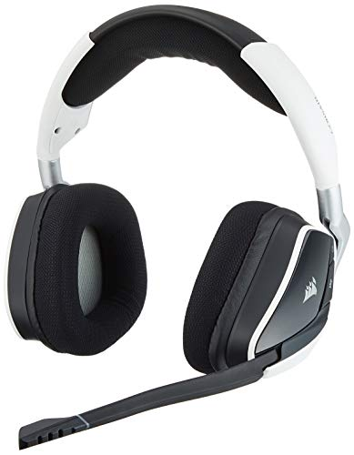 Corsair Void Pro RGB Wireless Binaural bandeau Blanc Casque Audio - Casques Audio (PC / Jeux, Binaural, bandeau, Blanc, sans Fil, USB)